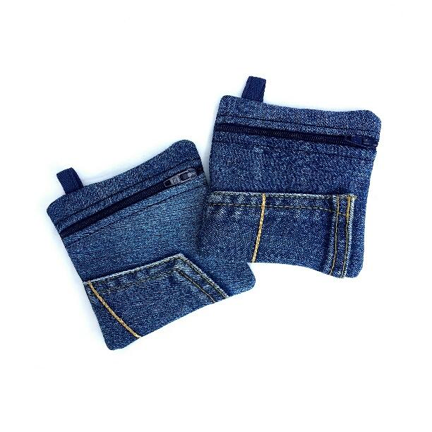 Reisverschluss Jeanstaschen